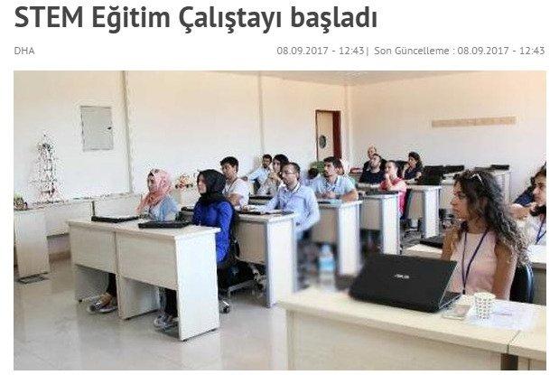 Gaziantep Üniversitesi ile STEM Eğitim Çalıştayı