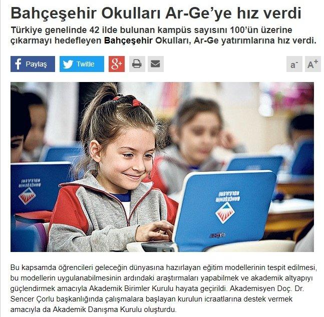 Doç Dr M. Sencer Çorlu Bahçeşehir Koleji Akademik Kurul Başkanı