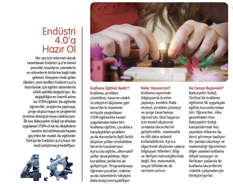 """National Geographic Kids- """"Gelecek STEM Eğitiminde"""" ekinde yer alan yazımız"""