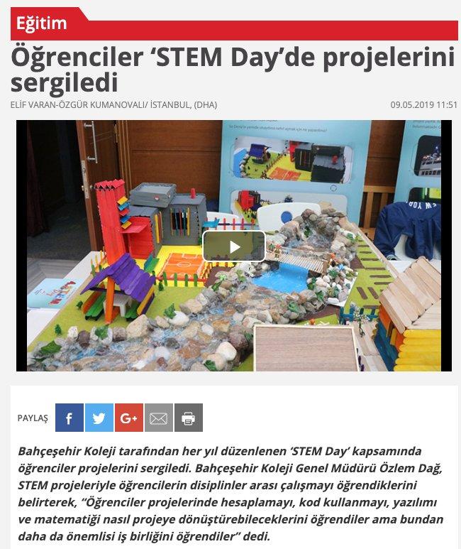 BAUSTEM Direktörünün STEM Day Semineri