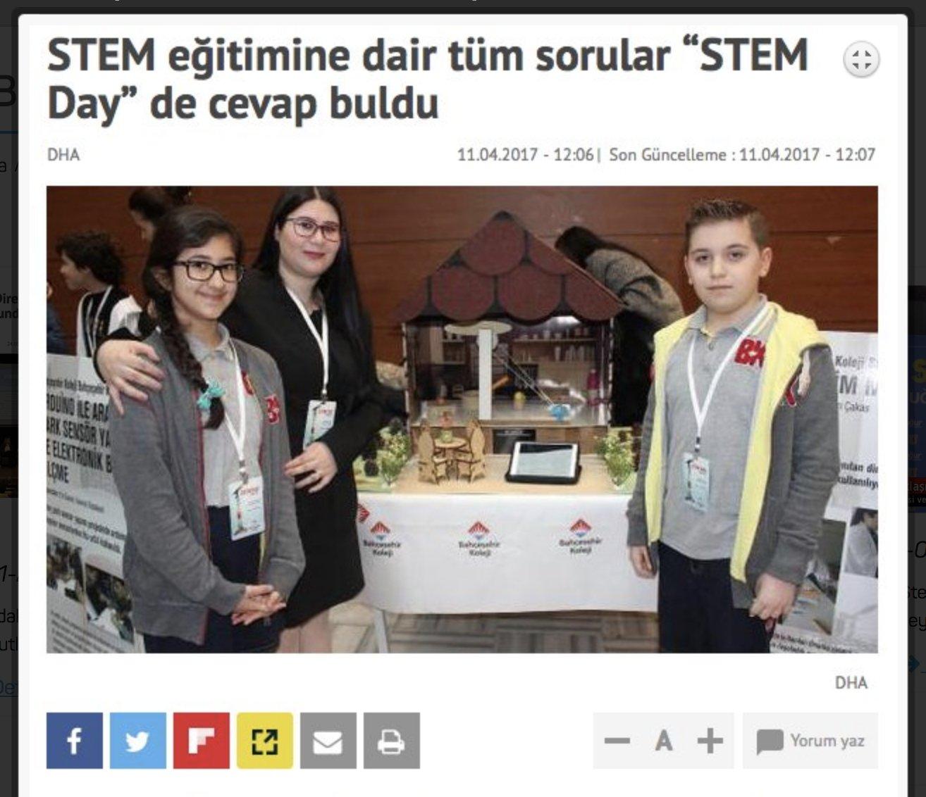STEM eğitimine dair sorular ve STEM Day