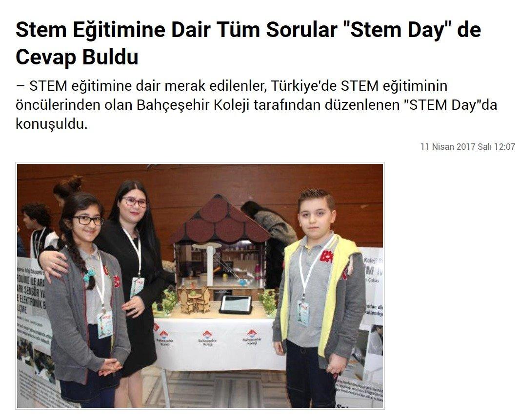 """STEM Eğitimine Dair Tüm Sorular """"STEM Day"""" de Cevap Buldu"""
